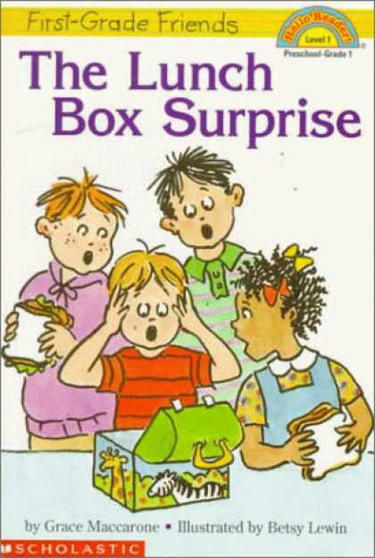 Books About Friendship - The First Grade Friends: Lunch Box Surprise (Hello Reader, Level 1)