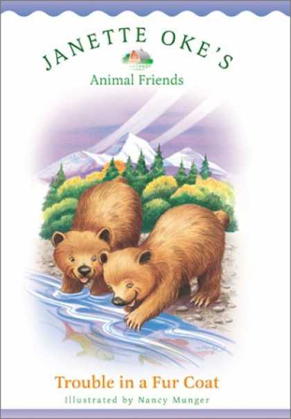 Books About Friendship - Trouble in a Fur Coat (Janette Okes Animal Friends)