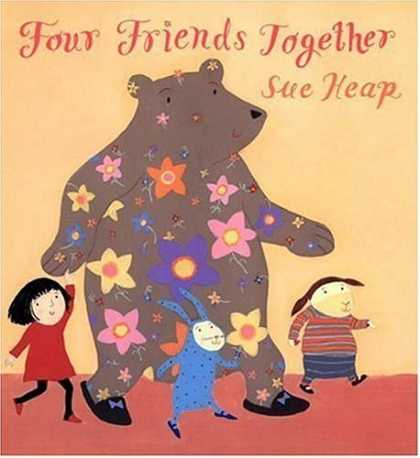 Books About Friendship - Four Friends Together
