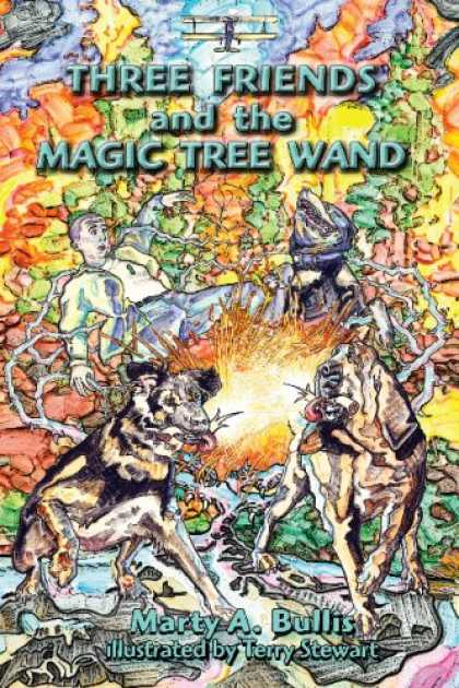 Books About Friendship - Three Friends and the Magic Tree Wand