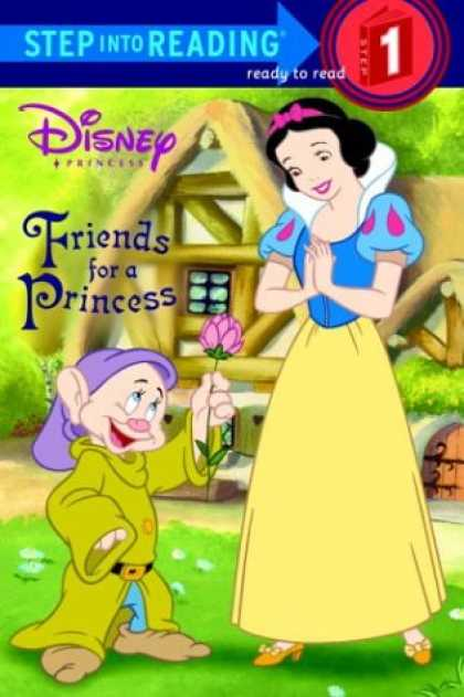 Books About Friendship - Friends for a Princess (Step into Reading)