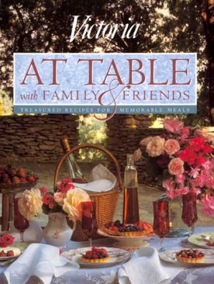 Books About Friendship - Victoria at Table With Family and Friends