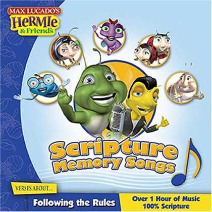 Books About Friendship - Scripture Memory Songs: Verses About Following the Rules (Max Lucado's Hermie &