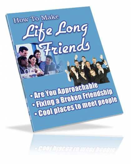 Books About Friendship - How To Make Life Long Friends