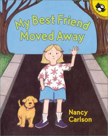 Books About Friendship - My Best Friend Moved Away (Picture Puffins)