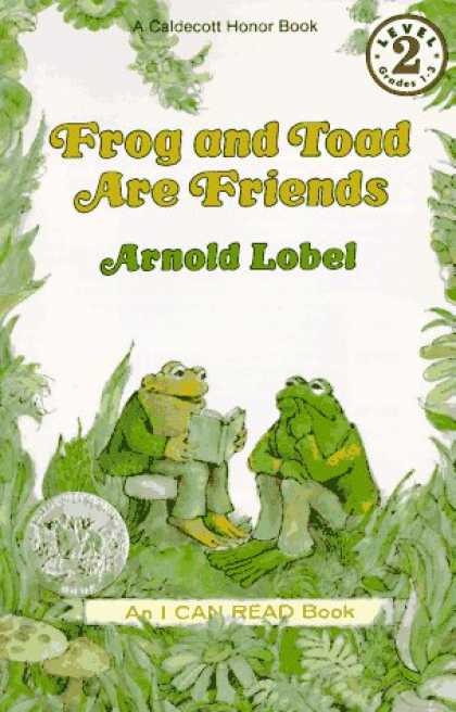 Books About Friendship - Frog and Toad Are Friends Book and Tape (I Can Read Book 2)