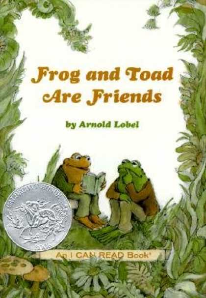 Books About Friendship - Frog and Toad Are Friends