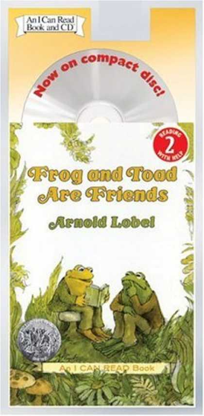 Books About Friendship - Frog and Toad Are Friends Book and CD (I Can Read Book 2)
