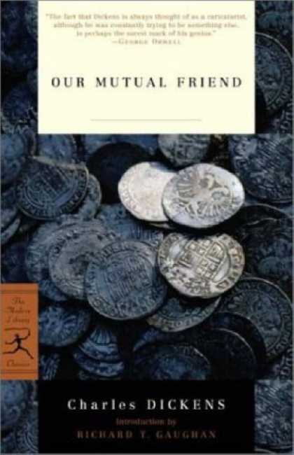 Books About Friendship - Our Mutual Friend (Modern Library Classics)