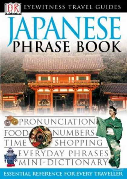 Books About Japan - Japanese Phrase Book (Eyewitness Travel Guides Phrase Books)