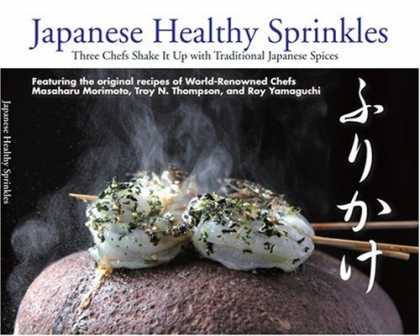 Books About Japan - Japanese Healthy Sprinkles: Three Chefs Shake It Up with Traditional Japanese Sp