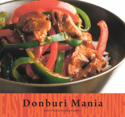 Books About Japan - Easy Japanese Cooking: Donburi Mania