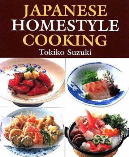 Books About Japan - Japanese Homestyle Cooking