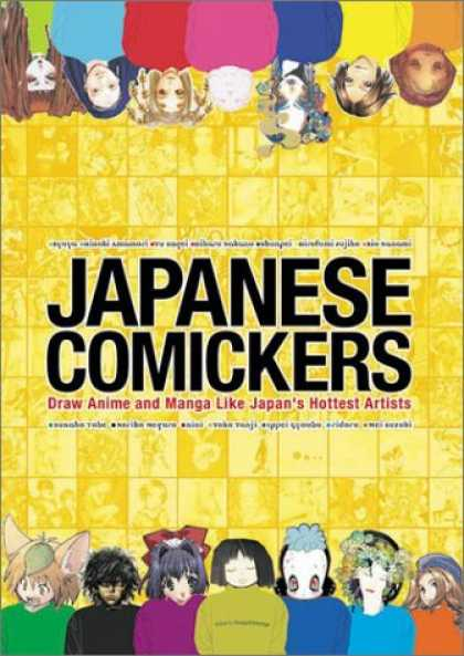 Books About Japan - Japanese Comickers: Draw Anime and Manga Like Japan's Hottest Artists