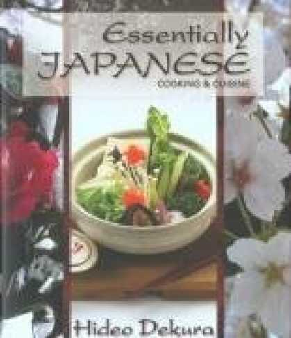 Books About Japan - Essentially Japanese: cooking & cuisine