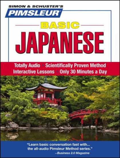 Books About Japan - Basic Japanese: Learn to Speak and Understand Japanese with Pimsleur Language Pr