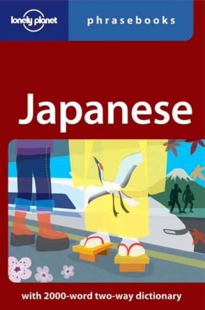 Books About Japan - Japanese: Lonely Planet Phrasebook