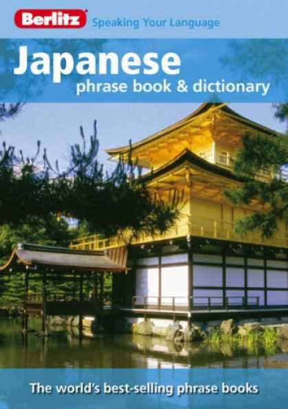 Books About Japan - Berlitz Japanese Phrase Book & Dictionary (Berlitz Phrase Book)