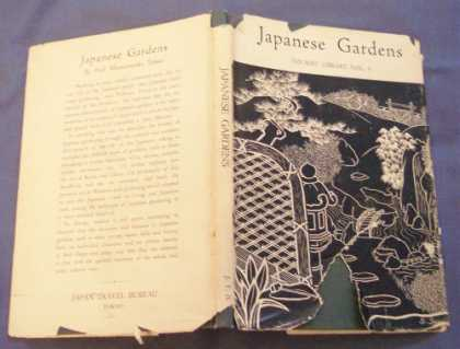 Books About Japan - Japanese Gardens (Tourist Library, Volume 5)
