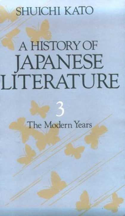 Books About Japan - History of Japanese Literature: The Modern Years
