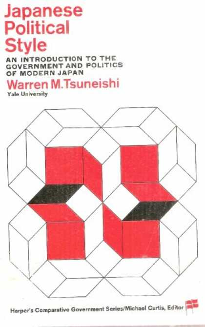 Books About Japan - Japanese Political Style: An Introduction to the Government and Politics of Mode
