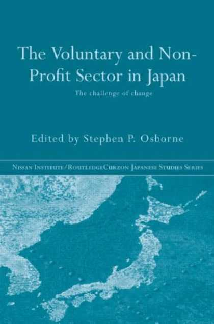 Books About Japan - The Voluntary and Non-Profit Sector in Japan (Nissan Institute/Routledgecurzon J