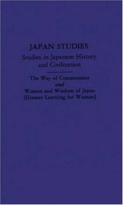 Books About Japan - The Way of Contentment and Women and Wisdom of Japan [Two Works]: Translated fro