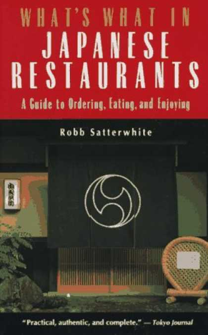 Books About Japan - What's What in Japanese Restaurants: A Guide to Ordering, Eating, and Enjoying (