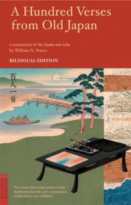 Books About Japan - A Hundred Verses from Old Japan: Bilingual Edition (Tuttle Classics of Japanese