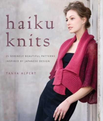 Books About Japan - Haiku Knits: 25 Serenely Beautiful Patterns Inspired by Japanese Design
