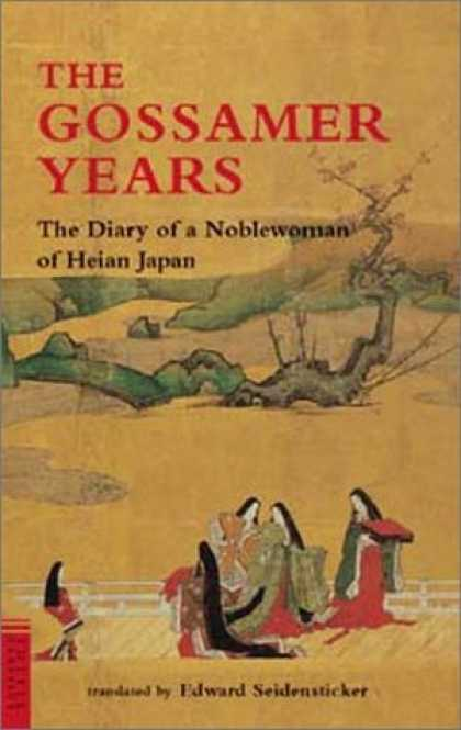 Books About Japan - The Gossamer Years: The Diary of a Noblewoman of Heian Japan (Tuttle Classics of