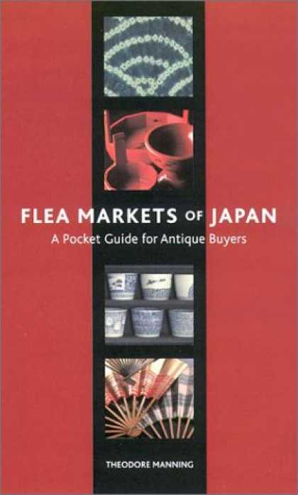 Books About Japan - Flea Markets of Japan: A Pocket Guide for Antique Buyers