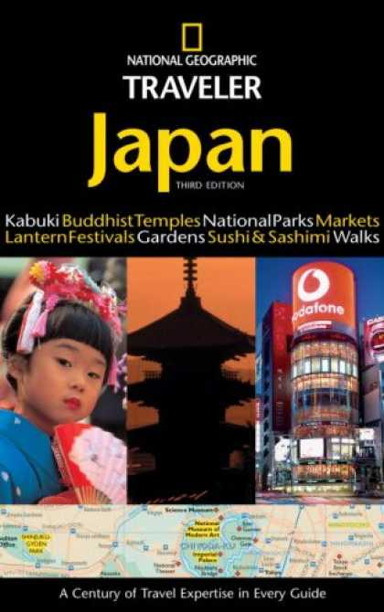 Books About Japan - National Geographic Traveler: Japan (3rd Edition)
