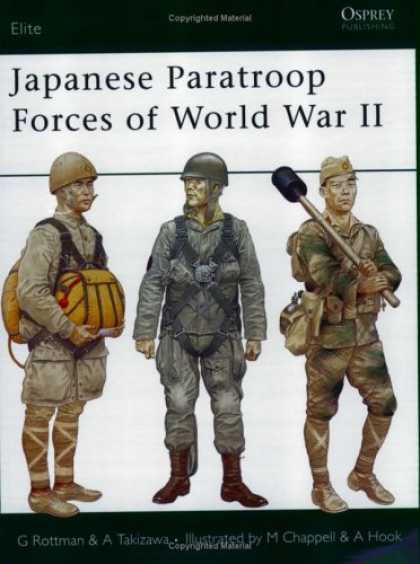 Books About Japan - Japanese Paratroop Forces of World War II (Elite)