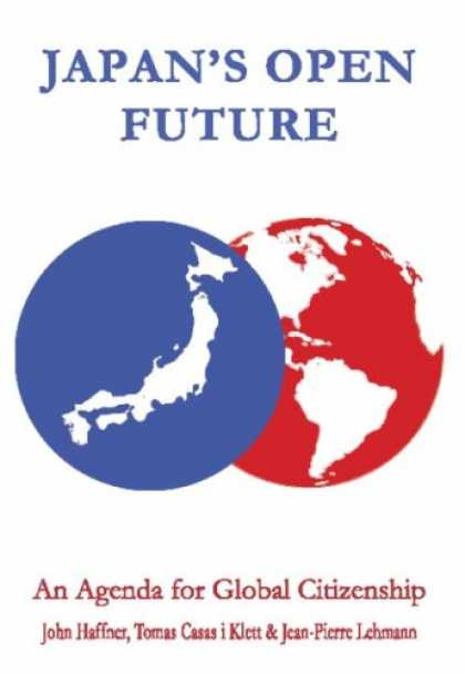 Books About Japan - Japan's Open Future: An Agenda for Global Citizenship (Anthem Politics and IR)