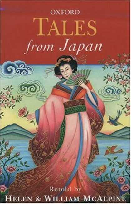 Books About Japan - Tales from Japan (Oxford Myths and Legends)
