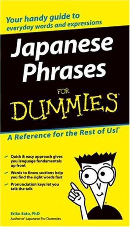 Books About Japan - Japanese Phrases For Dummies