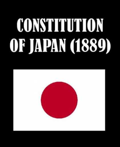 Books About Japan - Constitution of Japan (1889)