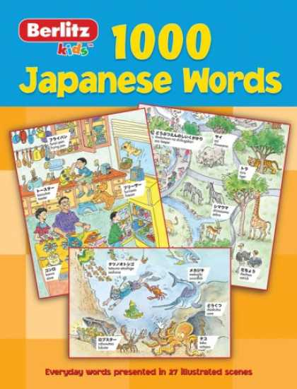 Books About Japan - 1,000 Japanese Words (Berlitz Kids)