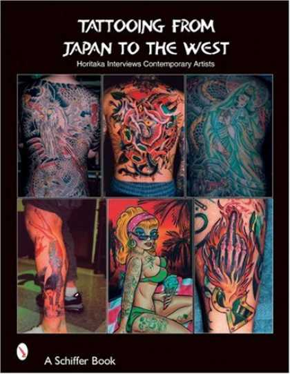 Books About Japan - Tattooing From Japan To The West: Horitaka Interviews Contemporary Artists