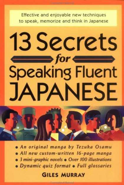 Books About Japan - 13 Secrets for Speaking Fluent Japanese