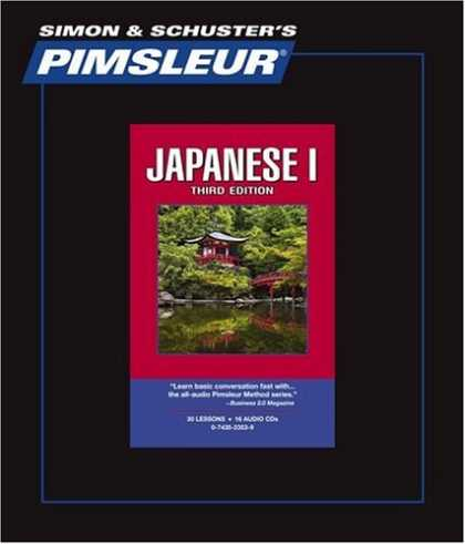 Books About Japan - Japanese I - 3rd Ed.: Learn to Speak and Understand Japanese with Pimsleur Langu