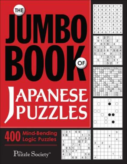 Books About Japan - The Jumbo Book of Japanese Puzzles (Puzzle Book)