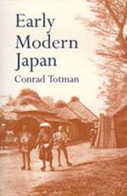 Books About Japan - Early Modern Japan