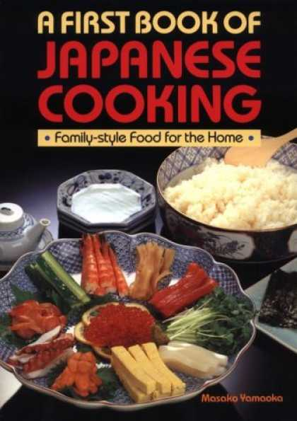 Books About Japan - A First Book of Japanese Cooking