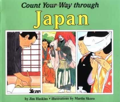 Books About Japan - Count Your Way Through Japan