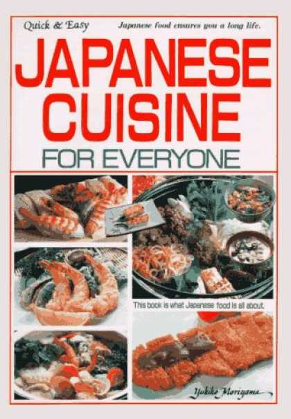 Books About Japan - Japanese Cuisine for Everyone: Quick and Easy (Quick and Easy Series)