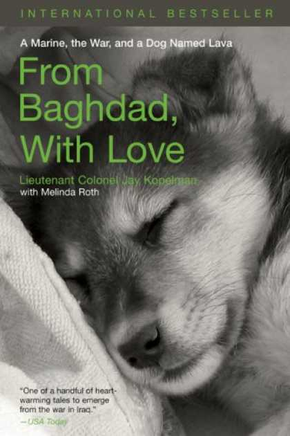Books About Love - From Baghdad, With Love: A Marine, the War, and a Dog Named Lava
