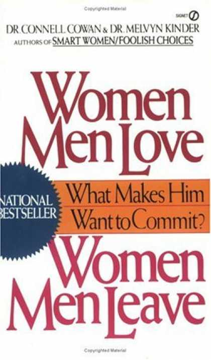 Books About Love - Women Men Love, Women Men Leave: What Makes Men Want to Commit?