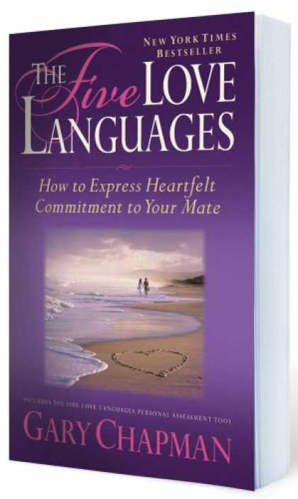 Books About Love - The Five Love Languages: How to Express Heartfelt Commitment to Your Mate